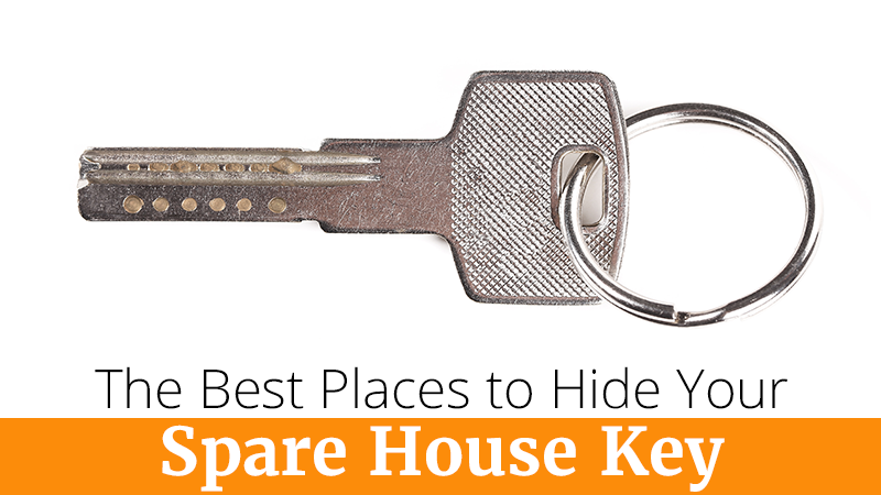 The Best Places to Hide Your Spare House Key