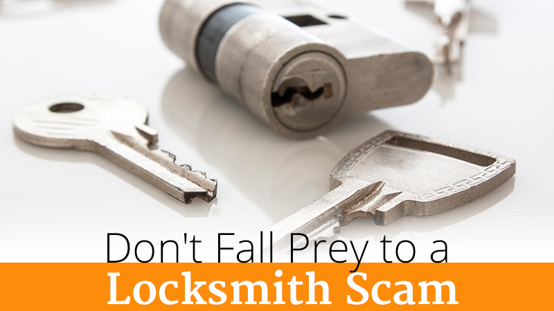 Don't Fall Prey to a Locksmith Scam